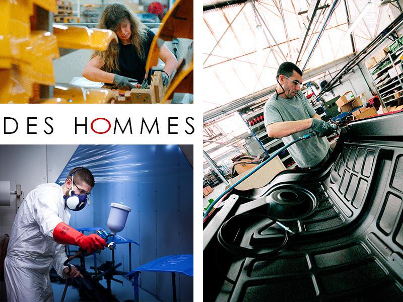 Technoplast Industries - Spécialité Thermoformage - Des Hommes